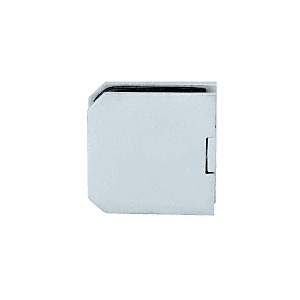 CRL M0638BN Brushed Nickel Monaco Series Fixed Panel U-Clamp