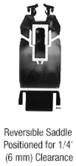 "CRL SR4TDU3812CL Black Bronze Anodized 4"" Custom Length Tapered Sidelite Rail for 3/8"" and 1/2"" Glass"