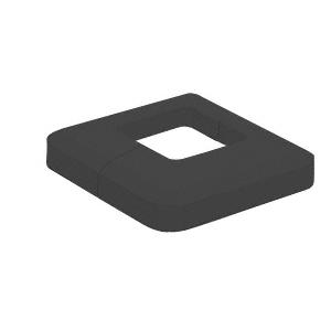 CRL CVR5BL Matte Black Base Plate Cover
