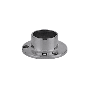 "CRL HR15YBS Brushed Stainless Full Flange for 1-1/2"" Tubing"