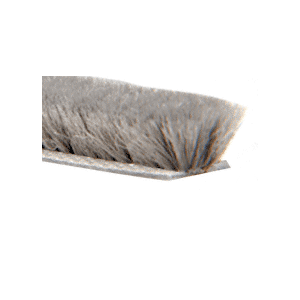 Storefront Door Pile Weatherstrip - 100' Roll .450 Pile Height; .350 Backing Width