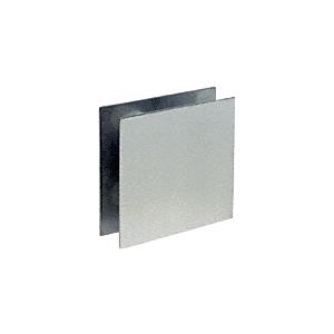 "CRL N777C3 Polished Stainless Steel 7"" Square Level 3 Bullet Resistant Speak-Thru"