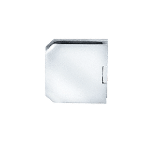 CRL M0638CH Chrome Monaco Series Fixed Panel U-Clamp