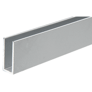 CRL D626A Satin Anodized Aluminum Channel Extrusion