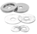 CRL 30WKBSC Brushed Satin Chrome Replacement Washers for Back-to-Back Solid Pull Handle
