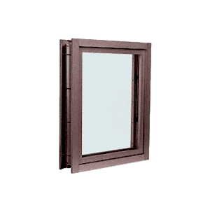 CRL C0V1DU Dark Bronze Aluminum Clamp-On Frame Interior Glazed Vision Window