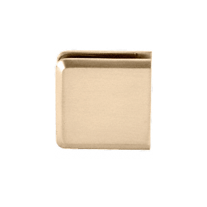 Purchase Heavy Duty Glass Clamp With Satin Brass Finish Online