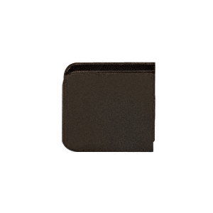 Traditional Style Fixed Panel U-Clamp With Oil Rubbed Bronze Finish