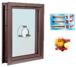 CRL C0VEDU Dark Bronze Aluminum Clamp-On Frame Exterior Glazed Vision Window