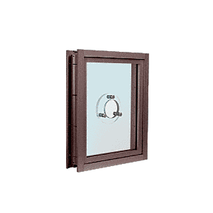 CRL C0VEDU Dark Bronze Aluminum Clamp-On Frame Exterior Glazed Vision Window