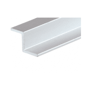 "CRL D1626A Satin Anodized Z-Bar Aluminum Channel 144"" Stock Length"