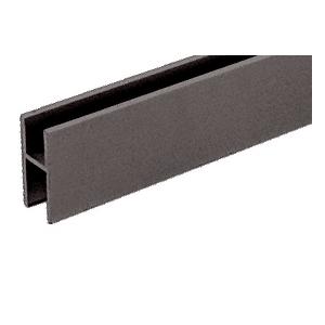 CRL D610DU Duranodic Bronze Aluminum 'H' Bar for Use on All CRL Track Assemblies