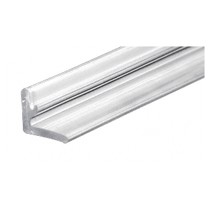 "CRL DK98L 95"" Replacement Clear Plastic L-Shaped Vinyl"