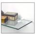 """CRL SC5CH Chrome - Aluminum Shelf Clip for 3/8"""" to 1/2"""" Glass"""