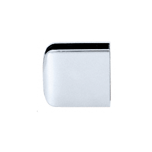 CRL R0M79CH Polished Chrome Roman Series Fixed Panel U-Clamp