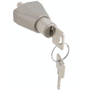 CRL 0911SCKA Satin Chrome Keyed Alike Sliding Door Lock