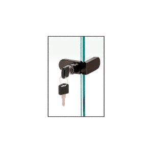 CRL 255BRZKA Bronze Keyed Alike No-Drill Showcase Lock