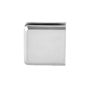 CRL Beveled Wall Mount Clamps - Hole In Glass Style