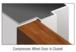 CRL SW250BLC Black Self-Adhesive Bulb Weatherstrip - 100' Roll