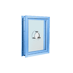 CRL C0VEP Powder Painted (Specify) Aluminum Clamp-On Frame Exterior Glazed Vision Window