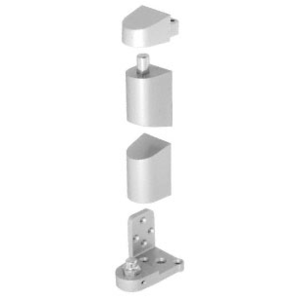 CRL 0P34RHA Aluminum Offset Right Hand Pivot Set Flush with Frame Face