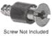 CRL 1414 Vinyl Protective Sleeve for Screws