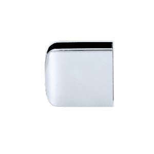 CRL R0M79SC Satin Chrome Roman Series Fixed Panel U-Clamp