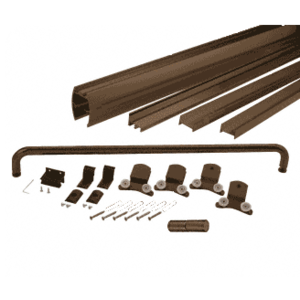 "CRL DK3860600RB Oil Rubbed Bronze 60"" x 60"" Cottage DK Series Sliding Shower Door Kit with Metal Jambs for 3/8"" Glass"