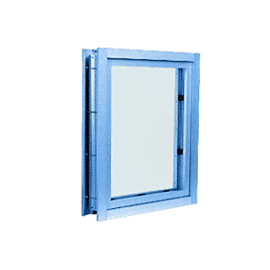 Powder Painted (Specify) Aluminum Clamp-On Frame Interior Glazed Vision Window