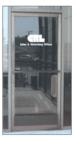 "CRL 9412DU Dark Bronze 4-1/2"" x 12"" Package Drop Slot"
