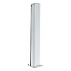 "CRL D990A24E Satin Anodized 24"" End Design Series Partition Post"