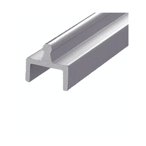 Satin Anodized Aluminum Single Bottom Rail