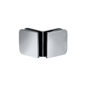 CRL R0M91CH Polished Chrome Roman Series 90 Degree Glass-to-Glass Clamp
