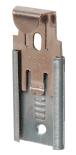 "CRL 64114 Nickel Plated Adjustable Mirror Clip Set for 1/4"" Seamed Mirror"