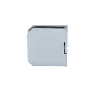 CRL M0638SC Satin Chrome Monaco Series Fixed Panel U-Clamp