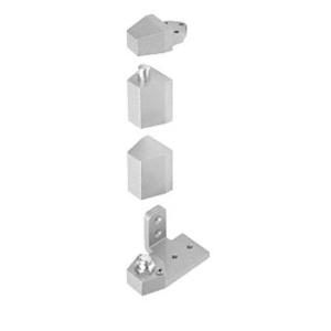 CRL 0P30RHA Aluminum Offset Right Hand Pivot Set Flush with Frame Face