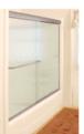 "CRL DK387280BN Brushed Nickel 72"" x 80"" Cottage DK Series Sliding Shower Door Kit With Metal Jambs for 3/8"" Glass"