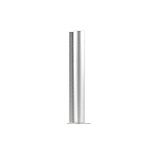 "CRL PP0818EPS Polished Stainless 18"" Round PP08 Elegant Series Counter/Partition End Post"