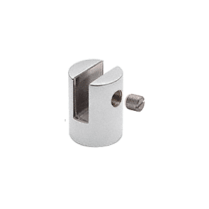 "CRL SM38CH Chrome Slot Mount Standoff for 3/8"" Panels"