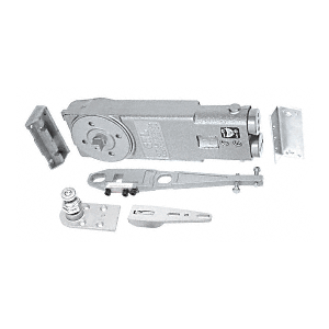 CRL CRL8170S Medium Duty 105 Hold Open Overhead Concealed Closer with S-Side-Load Hardware Package
