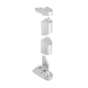 "CRL 0P40LHA Aluminum Offset Left Hand Pivot Set with 1/8"" Recess"