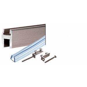 CRL SDH980BN Brushed Nickel Deluxe Shower Door Header Kit - 95""