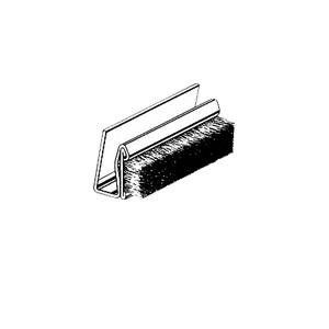 "CRL 16M96 96"" Rigid 5/16"" x 21/32"" Marine Glass Edge Seal"