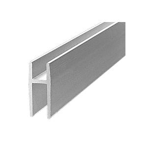 CRL D5610A Satin Anodized Aluminum D5610 'H' Bar