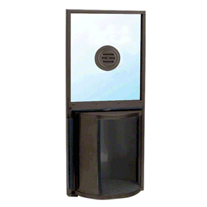 Buy Rotating Service Window With Dark Bronze Finish