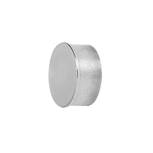 "CRL HR20FPS Polished Stainless Flat End Cap for 2"" Round Tubing"