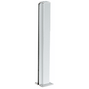 "CRL D990A30E Satin Anodized 30"" End Design Series Partition Post"