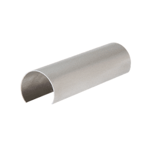 "CRL GR15CSS Stainless Steel Connector Sleeve for 1-1/2"" Cap Railing, Cap Rail Corner, and Hand Railing"