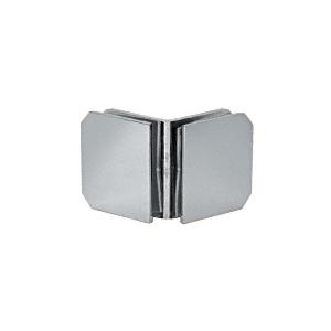 CRL M0690SC Satin Chrome Monaco Series 90 Degree Glass-to-Glass Clamp