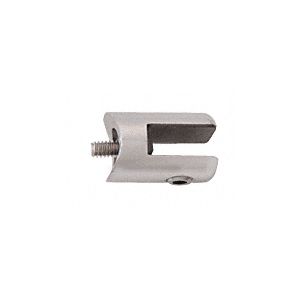 "CRL SA60BS Brushed Stainless Fixed Glass Fitting for 1-1/2"" Tubing"